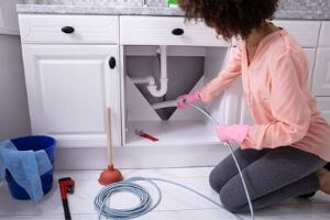 fix clogged sink